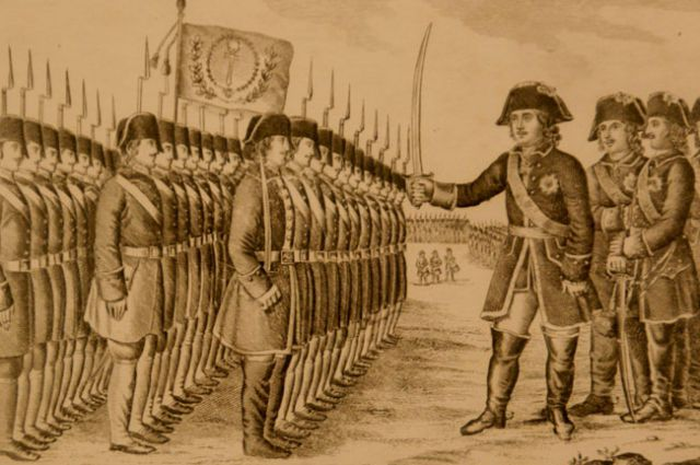 В  XVIII столетии полиция контролировала практически все сферы жизни общества.