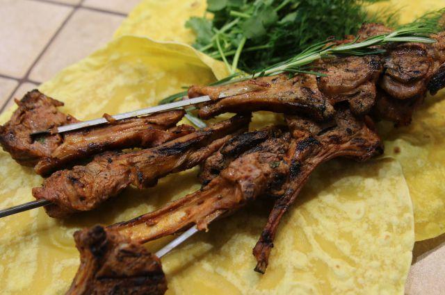 шашлык из баранины рецепт дагистанский