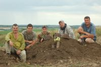 «Миус-фронт» в полях круглый год: и зимой, и летом.
