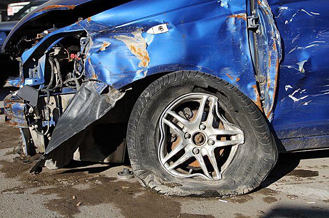 В результате ДТП виновник аварии не пострадал