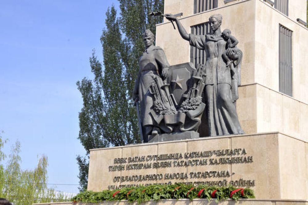 Парк Победы стал одной из основных площадок празднования 9 мая.