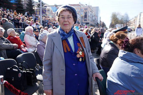 Пермяки отмечают 71-ю годовщину Великой Победы.