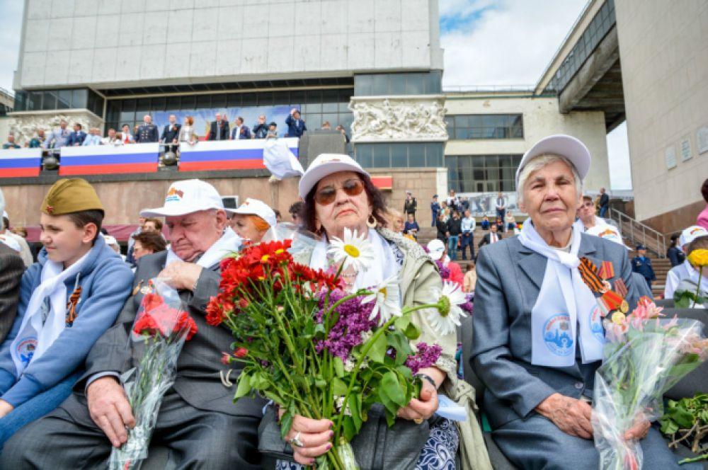 в 71-й раз пришёл на донскую землю самый светлый и величественный праздник - День Победы.