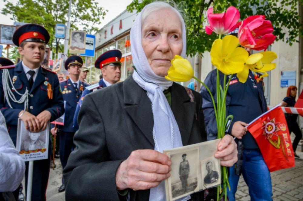 Более 50 тысяч ростовчан вписали имена своих родных и близких состав «Бессмертного полка».