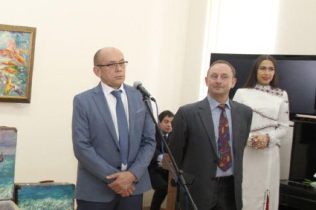 Станислав Воронов (слева)