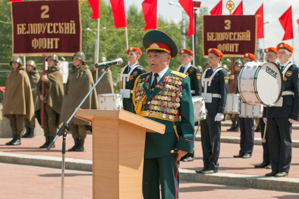 Владимир Керханаджев - участник Сталинградской битвы.