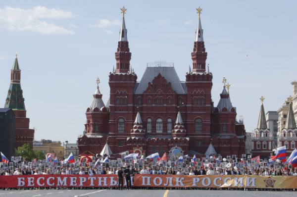 «Бессмертный полк» в Москве.