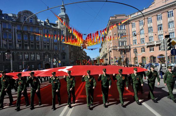 «Бессмертный полк» в Санкт-Петербурге.
