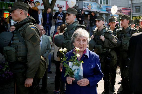 «Бессмертный полк» в Киеве.