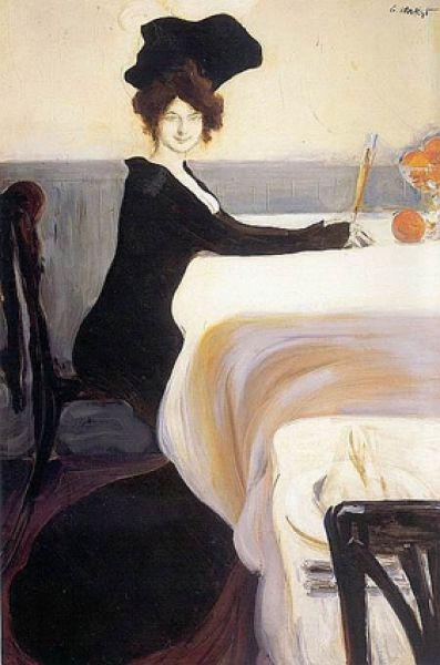 «Ужин», 1902 год.