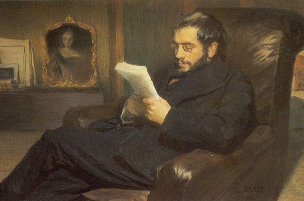 Портрет Бенуа, 1898 год.