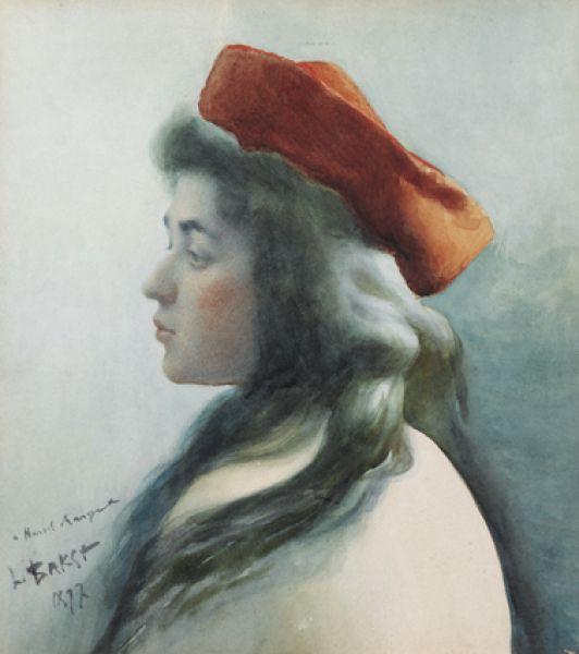 Портрет молодой девушки, 1897 год.