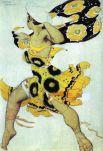 Эскиз костюма к балету Николая Черепнина «Нарцисс», 1911 год.