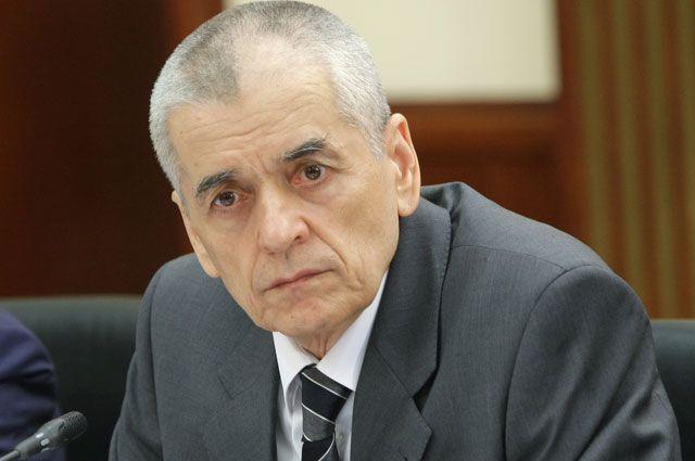 Геннадий Онищенко всю жизнь занимается биологической защитой.