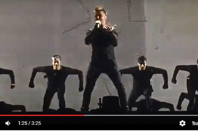 Евровидение-2016: фрагмент c репетиции Сергея Лазарева.