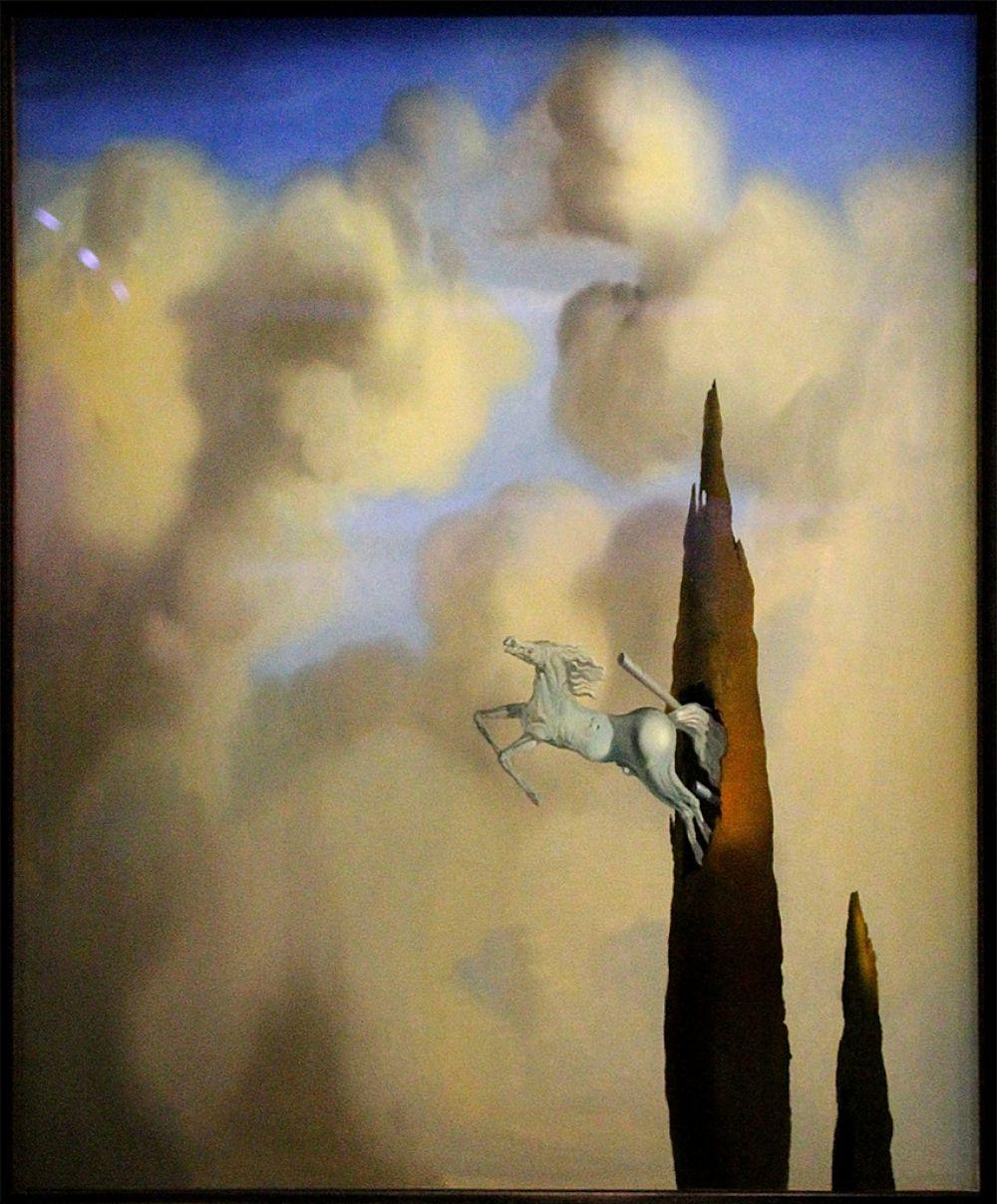 «Окостенение кипариса на рассвете», 1934
