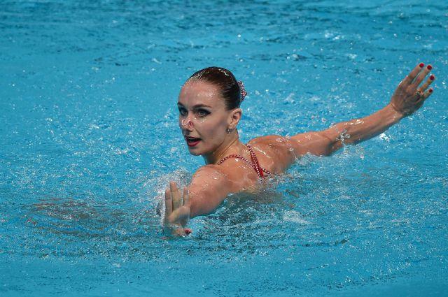 Синхронистка Наталья Ищенко завоевала золото на чемпионате Европы