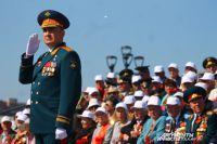 Впервые в Туле Парад 9 мая принимал Герой России.
