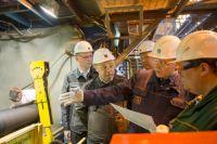 Председатель Совета директоров ТМК Дмитрий Пумпянский проводит аудит безопасности труда на ВТЗ.