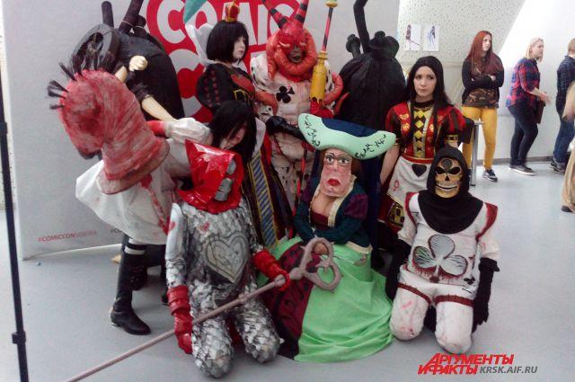 Фестиваль Comic Con Siberia.