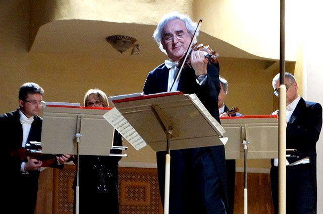 Скрипач Альберто Мартини признался, что любит произведения русских композиторов.