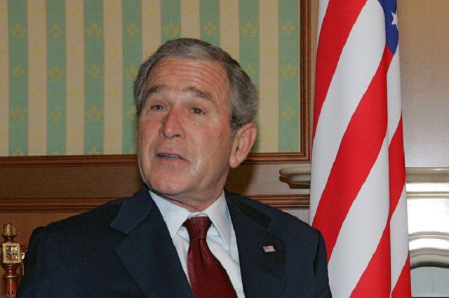 Джордж Буш-младший.