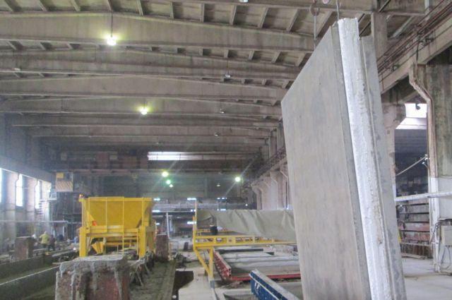 Завод начал выпускать железобетонные элементы для жилищного  строительства по монолитно-каркасной технологии