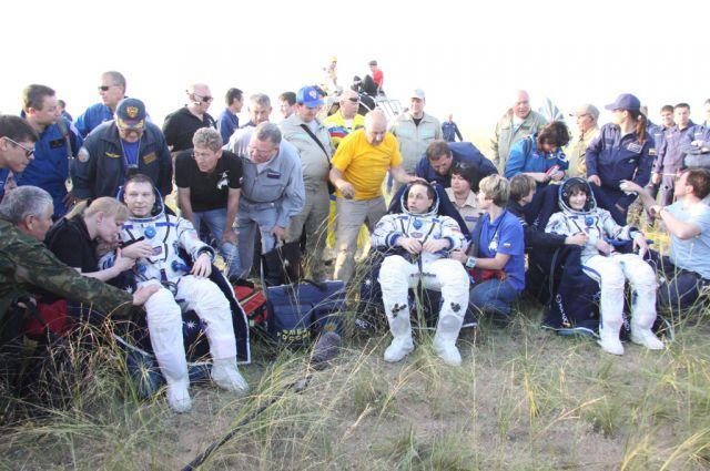 Космонавты переживают сумасшедший стресс, но всегда счастливы, что вернулись на Землю живыми.