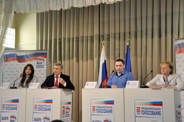 Виктор Гринкевич на дебатах.