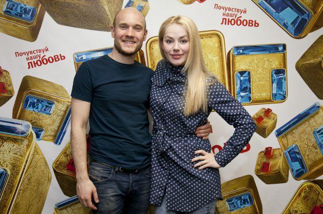 Актеры сериала Владимир Селиванов и Зоя Бербер.