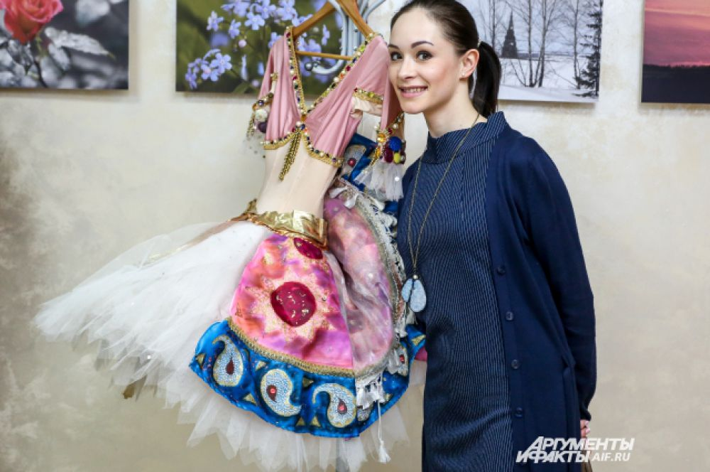 Балерина оперного театра Дарья Белова.