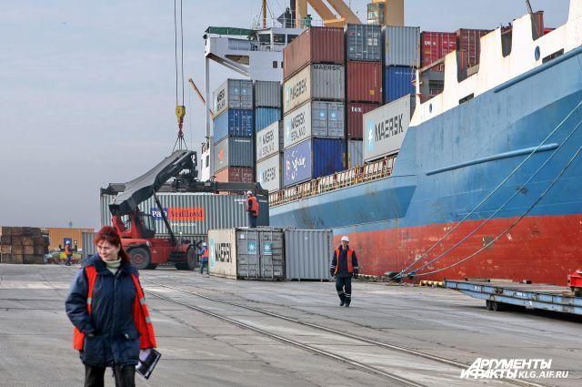 В Калининградской области могут установить режим свободного порта.
