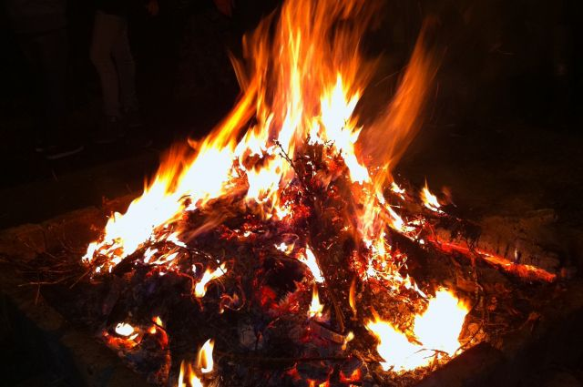 Костер может стать причиной пожара