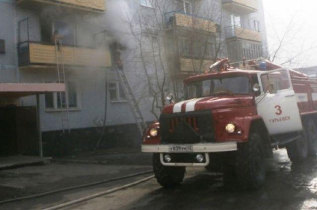 Дым от пожара был виден в центре Новосибирска
