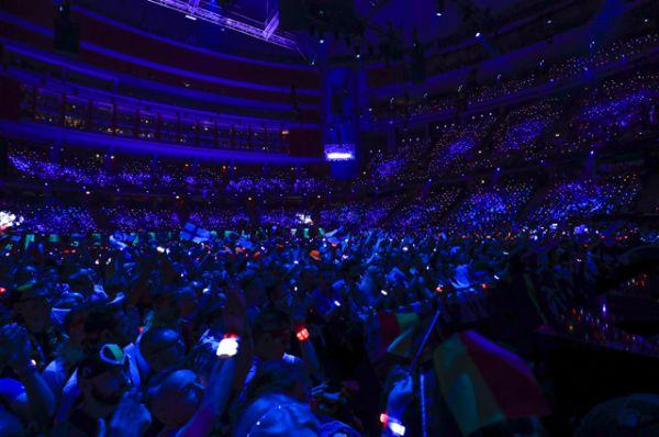 Финал международного музыкального конкурса «Евровидение-2016».