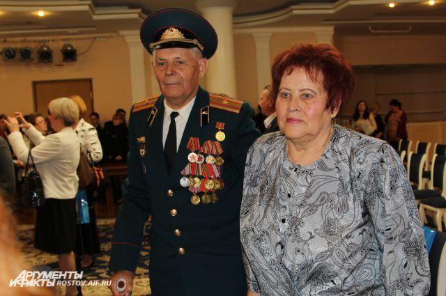 Супружеская пара ростовчан Ивана Федоровича и Валентины Трофимовны Некрасовых живут вместе 63 года.