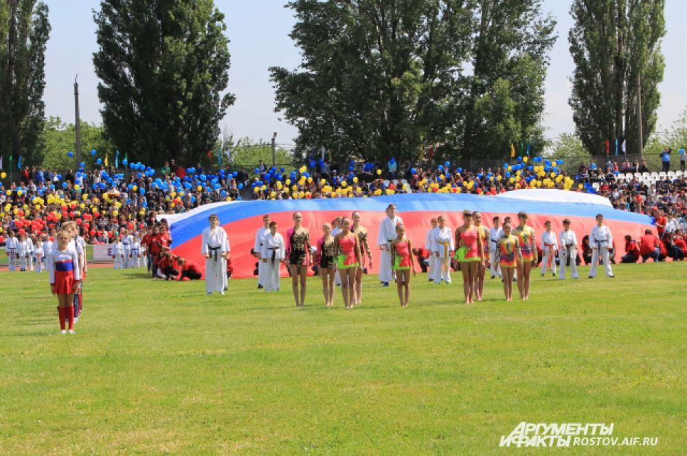 Волгодонск приготовил яркую шоу-программу открытия.