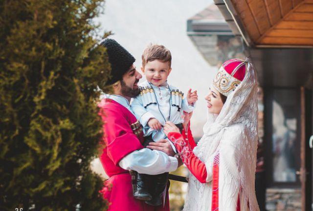 Национальная кабардинская свадьба.