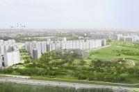 Круглогодичный парк вблизи ЖК «Люберецкий» раскинется на площади в 17 Га.