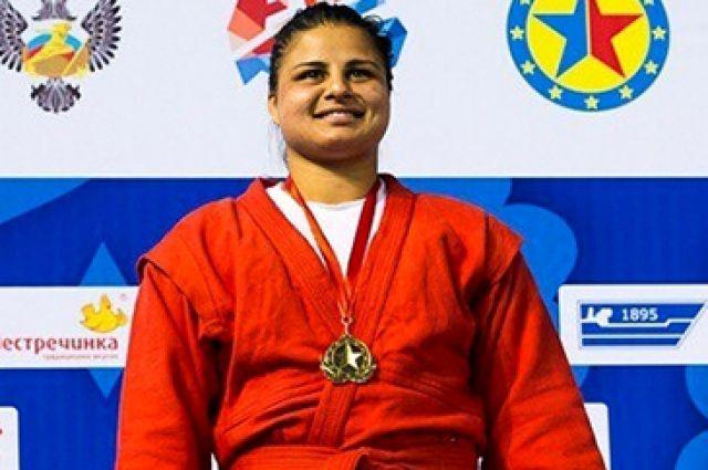 Калининградка Анжела Гаспарян выиграла «золото» чемпионата Европы по самбо.