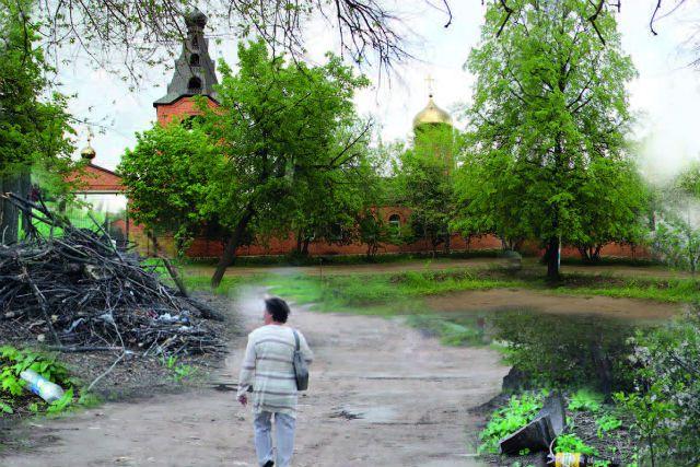Дорога к храму должна содержаться в порядке.