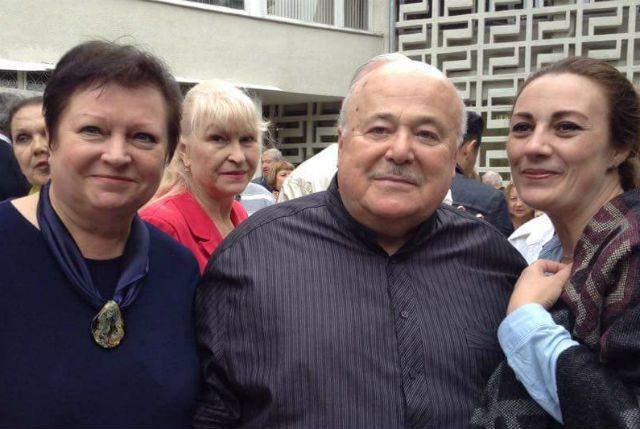 Наталья Никонорова (слева) в компании Александра Калягина.