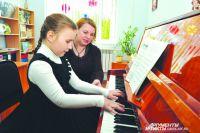На отделение фортепиано дети всегда идут с удовольствием.