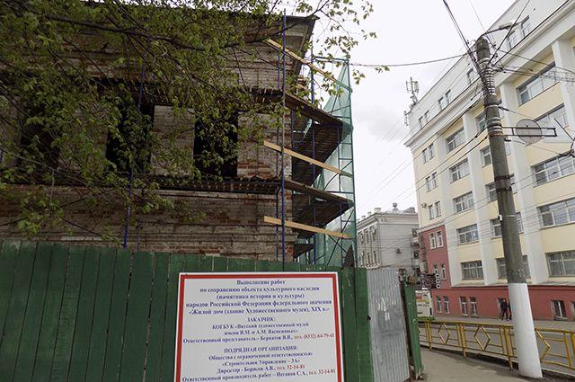 Первый этап реставрации завершится уже в августе этого года.