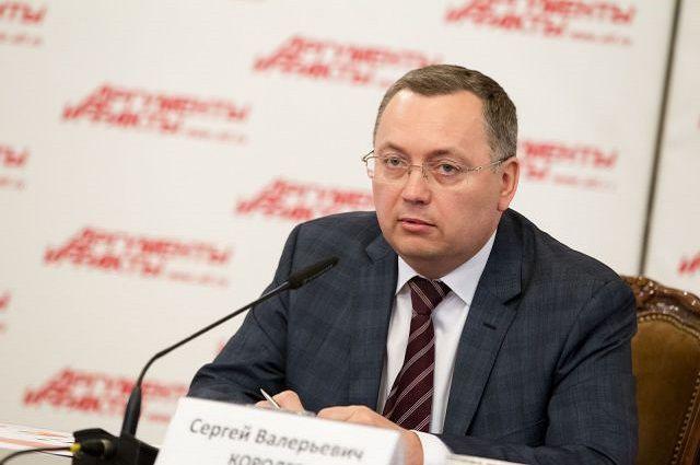 Президент Национального союза производителей плодов и овощей Сергей Королёв.