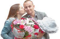 Кристина Грачёва и Владимир Акимов. Сначала от рака вылечила его своей любовью она, потом он - её.