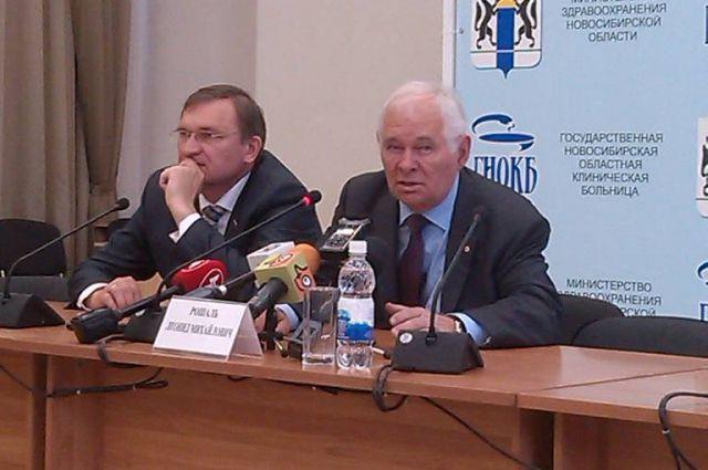 Леонид Рошаль высоко оценил медицину в Новосибирской области.