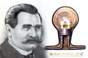 Александр Лодыгин первым представил лампу накаливания публике.