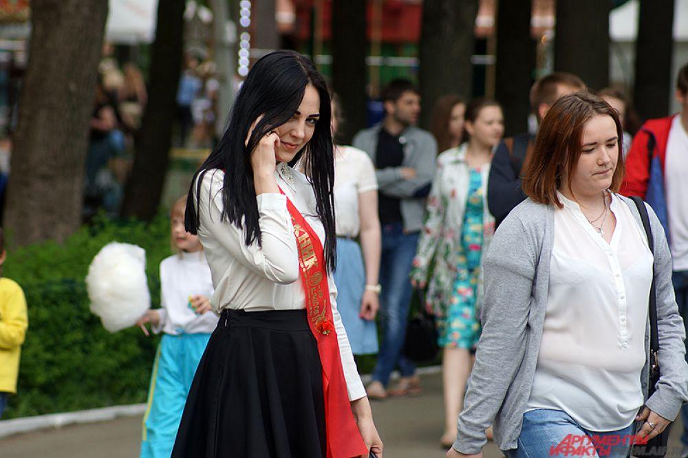 Торжественные линейки, посвящённые окончанию школы, прошли 20 мая.