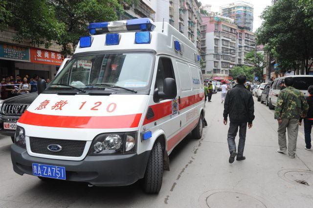 Жертвами крупного пожара нашвейной фабрике вКитайской народной республике стали шесть человек